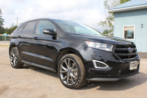 2017 Ford Edge Sport AWD | PANORAMIC SUNROOF | Heated Leather