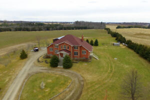 Nestled in 38.11 acres of privacy. You're very own playground.