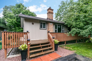 OPEN HOUSE Bungalow w/finished walkout bsmt/view of Lake Scugog