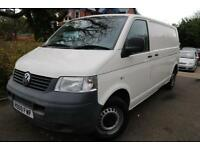 2009 Volkswagen Transporter 1.9 TDI White T30 LWB PBV P/V 102 Finance Available