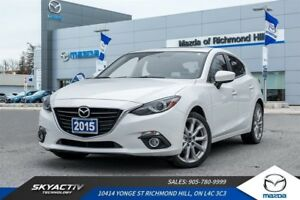 2015 Mazda 3 GT LEATHER*HEATED SEATS*NAVIGATION