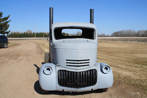 FOR SALE 1946 CHEVY CAB OVER TRUCK.