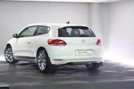 2009 Volkswagen Scirocco 2.0 TDI 3-Dr Coupe Diesel white Manual