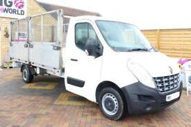 2013 RENAULT MASTER LL35 DCI 125 LWB ALLOY DROPSIDE CAGE DROPSIDE DIESEL
