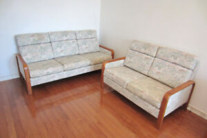 Living Room Couch Set - 2 piece