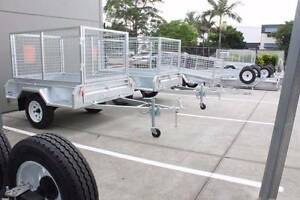 Heavy Duty Galvanized Box Trailer (7*4) Coopers Plains Brisbane South West Preview