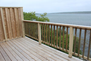 Clarenville - Spacious 2-bedroom Waterfront Apartment for Rent