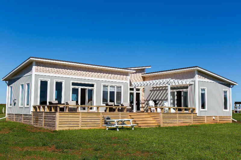 Sea View Cottage Rental - Oceanview, beach access | Prince ...