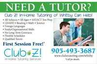 NEED A MATH/ENGLISH/FRENCH TUTOR IN WHITBY, AJAX, BROOKLIN?