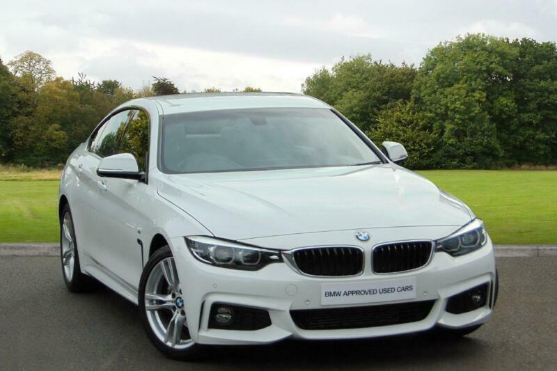 2019 BMW 4 Series 420d M Sport Gran Coupe Diesel white ...