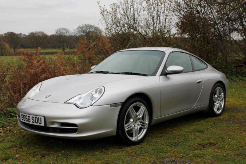 Porsche 911 3 6 996 Carrera 2 Coupe Tiptronic S