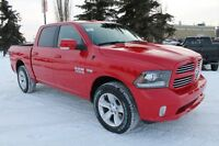 2016 RAM 1500 SPORT CREW CAB READY TO ROCK & ROLL TO YOUR BEAT !