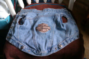 Authentic Harley Jean Jacket and Hat