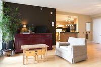 Large 3 bedroom condo with appliances - St-Henri (1200 sq ft)