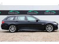 2011 60 BMW 5 SERIES 2.0 520D M SPORT TOURING 5D AUTO 181 BHP DIESEL