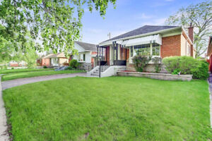 AT KENNEDY/LAWRENCE 3 BED BUNGALOW WITH 3 BED BASEMENT APARTMENT