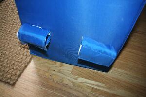 IKEA hanging five pocket storage unit in blue Kitchener / Waterloo Kitchener Area image 4
