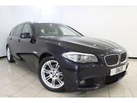 2012 12 BMW 5 SERIES 2.0 520D M SPORT TOURING 5DR AUTOMATIC 181 BHP DIESEL