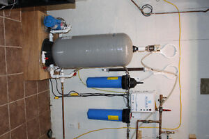 Cottage Water filtration system