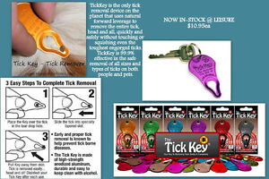 Get Your Tick Keys - Now Back INSTOCK!