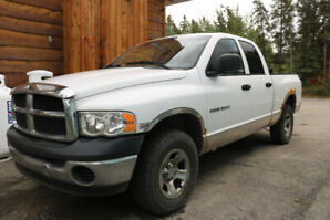 2004 Dodge Ram 1500 Quad Cab 5.7L Hemi 4x4 - ready to tow