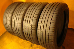 Set of 4 215/45/17 Michelin 70% tread