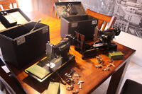 Singer featherweight sewing machines model 221k & 222k