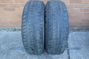 2-235/70R16 GOODYEAR WRANGLER ALL SEASON TIRES
