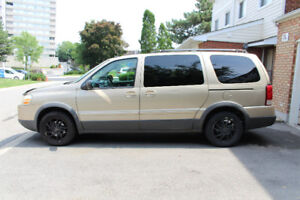2005 Pontiac Montana Van For Sale - lightly used