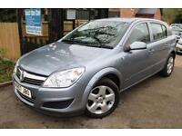 2007 (57 Plate) Vauxhall Astra 1.6 Energy 5 Door Silver FSH Long MOT Low Mileage