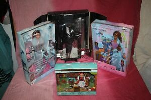 4 COLLECTIBLE RARE BARBIE DOLLS.DISNEY.MOVIE.MAGIC.FAIRYTALE