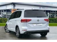 2018 Volkswagen Touran 1.4 TSI R Line 5dr DSG Auto Estate Petrol Automatic
