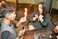 Close Up MAGIC 4 Parties/Events by Cr8tive Magician from $125