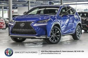 2016 Lexus NX 200t F-SPORT 3, NAV, HEADS UP DISPLAY AND MORE