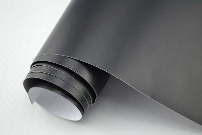 6,22€/m² Auto Folie Schwarz Matt 200 x 152 cm flexibel 3D Klebefolie Car Wrappin