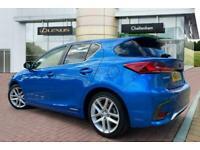 2018 Lexus CT HATCHBACK 200h 1.8 Luxury 5dr CVT Auto Hatchback Petrol/Electric H