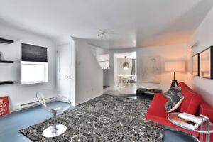 Adorable Maison Renovée, cour, 2 chambres , immédiate!