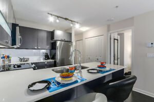 Gorgeous 1 bed/1 bath  and Den 700 sq ft Cornerstone Condo