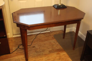 Computer Desk with lamp