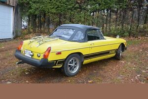MGB 1975 avec/with Overdrive
