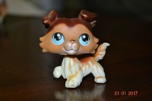 Retired Collie Littlest Pet Shop