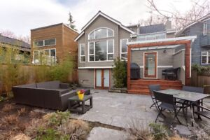 Desirable House in Kitsilano for rent, 4 bedroom, available on A