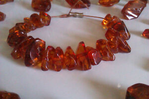 Baltic Amber stones from necklace