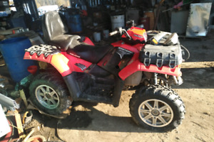 2011 Polairs 850 Sportsman  twin 2person needs  motor work