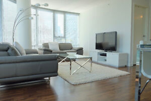 Fully Furnished 2-bdr Downtown Apartment, All Utilities Included