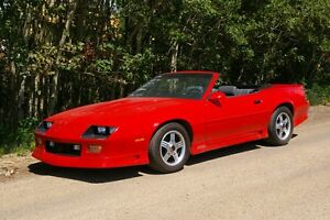 1991 Red Z28 CONVERTIBLE  #1931