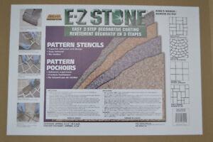 pattern stencils for concrete