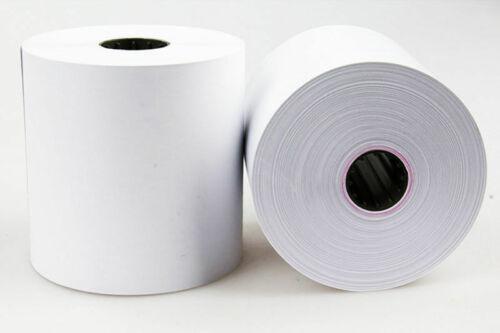 """Thermal Receipt Paper POS Cash-Register Foil wrap 50 Rolls 3 1/8"""" x 230"""