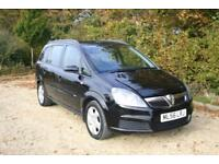 7 Seat Vauxhall ZAFIRA done 97479 Miles with SERVICE HISTORY and Long MOT
