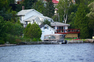 Beautiful lakefront home for rent